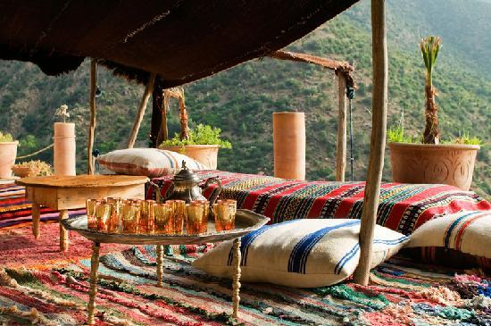 tea in the berber tent picture of dar tassa ouirgane tripadvisor