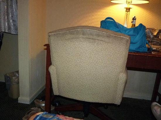 Days Inn College Park Airport Best Road: Desk chair, back