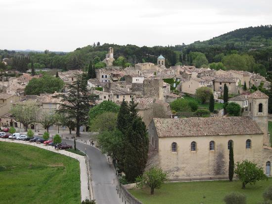 Lourmarin, Frankrike: 城からの眺め