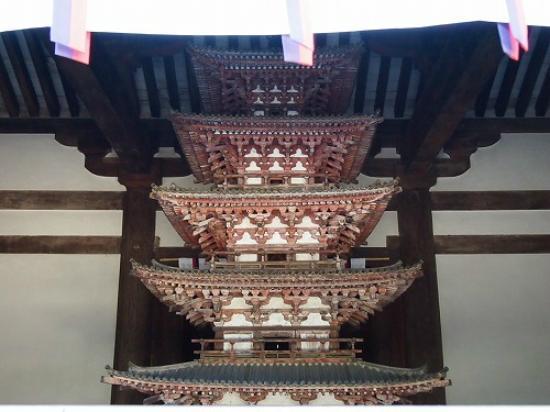 Kairyuoji Temple: 国宝!屋内用五重塔!!