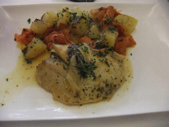 Restaurant Stella D'Oro: Filet de st pierre, légumes provençales