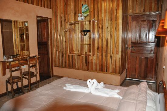 Monteverde Rustic Lodge: Unser 3-Bett-Zimmer