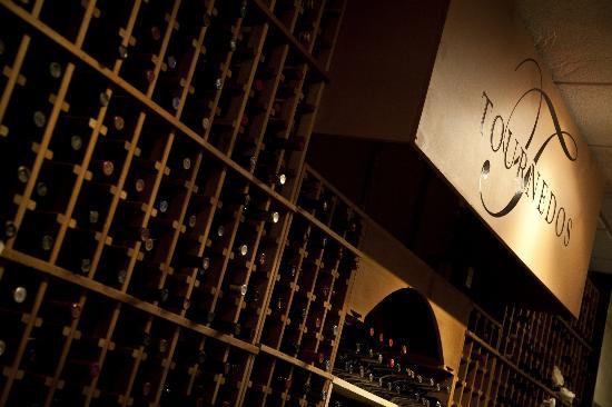 Tournedos Steakhouse: Wine Room