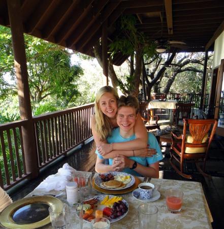 La Giralda : Breakfast on the Casa Grande Verandah