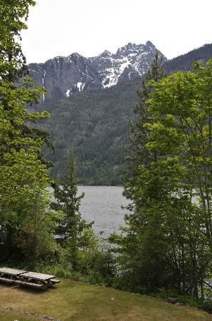 North Cascades Lodge at Stehekin: View from our room