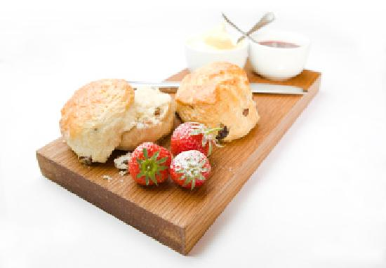 Oak and Glass Restaurant: Cream tea at Oak and Glass