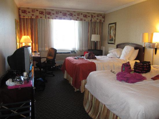 Sunbridge Hotel & Conference Centre Downtown Windsor: Inside the hotel room