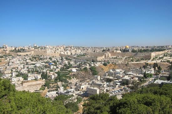 La Maison d'Abraham: The view from the roof
