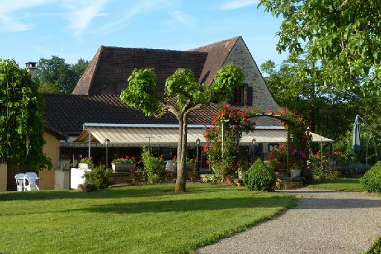 Domaine de la Rhonie : Accueil et restaurant