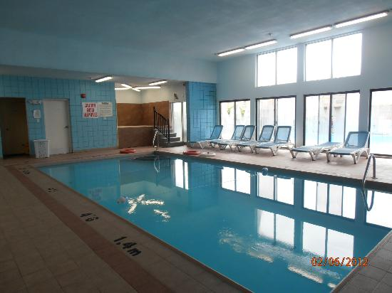 Niagara Lodge & Suites: piscine interieur