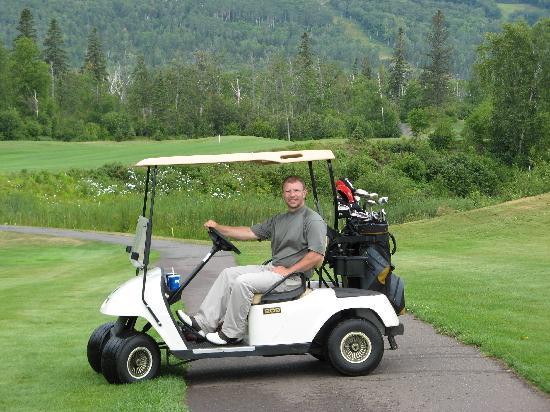 Superior National Golf Course: me