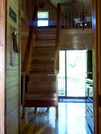 Lost Trail Cabins : Going Up!