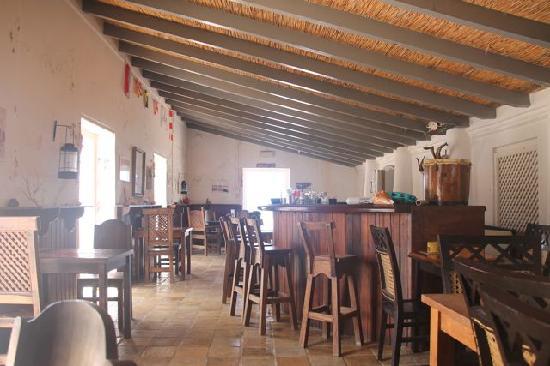 The small restauarnt at Boca Slagbaai