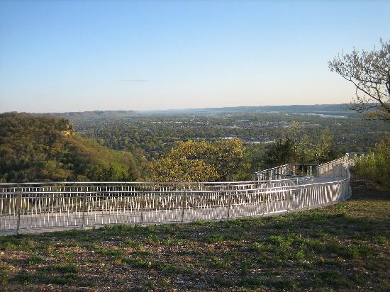 La Crosse, WI: View West from Granddad Bluff