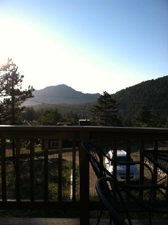 Valhalla Resort: view from deck