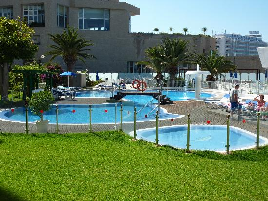 Villamar: Swimming pool, with 0.5m baby pool