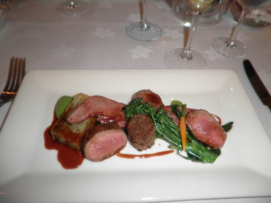 Blackaddie Country House Hotel: main course