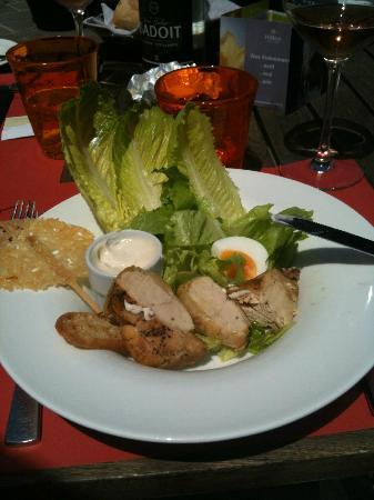 Riva Restaurant Bar & Lounge : Salade Caesar Riva