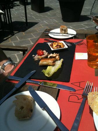 Riva Restaurant Bar & Lounge : Trilogie de crabe