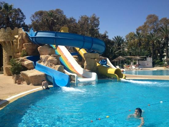 Marhaba Royal Salem: pool slides