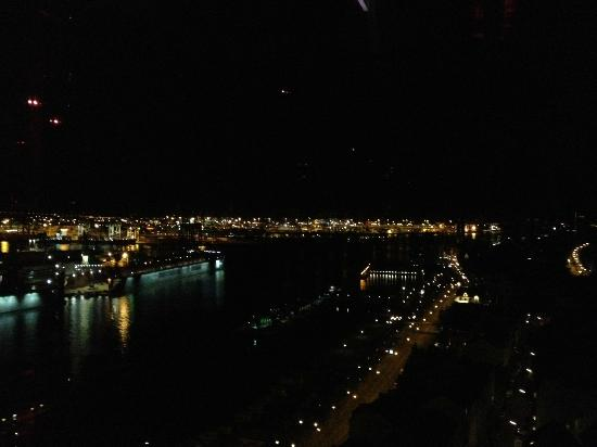 View from Rooftop-Bar at Empire Riverside Hotel