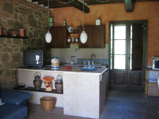 Casale Il Caggio: Our apt's kitchen