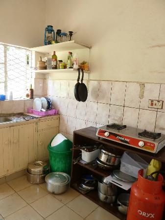 Hostel Hoff: The kitchen