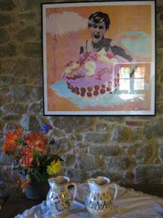 Casale Il Caggio: Gabriella in her youth