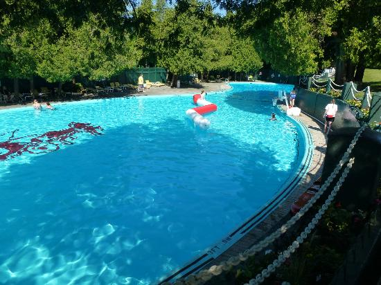 Pool Picture Of Grand Hotel Mackinac Island Tripadvisor