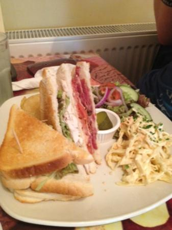 Club Sandwich Picture Of Chocolate Cafe Ramsbottom