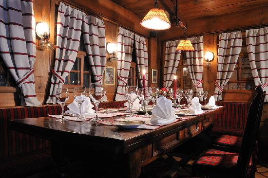 Hotel Kreuz & Post: Challi Stübli im à la carte Restaurant