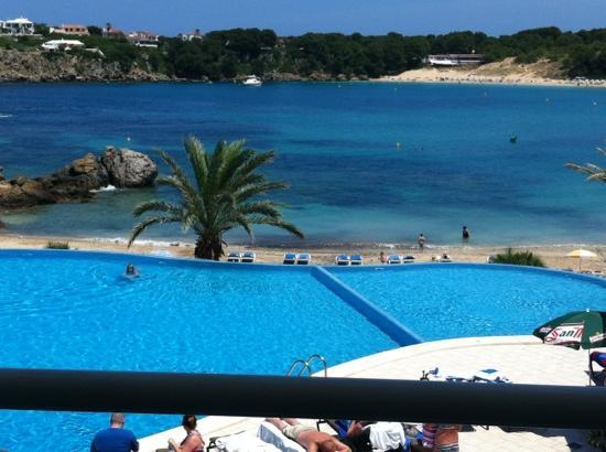 White Sands Beach Club: our view