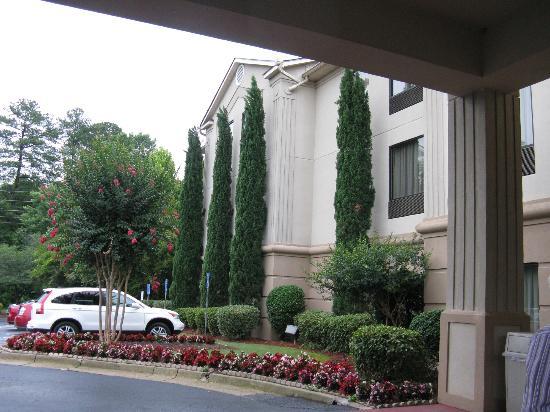 BEST WESTERN McDonough Inn & Suites: outside area