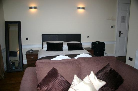 Queens Guest House : Bedroom