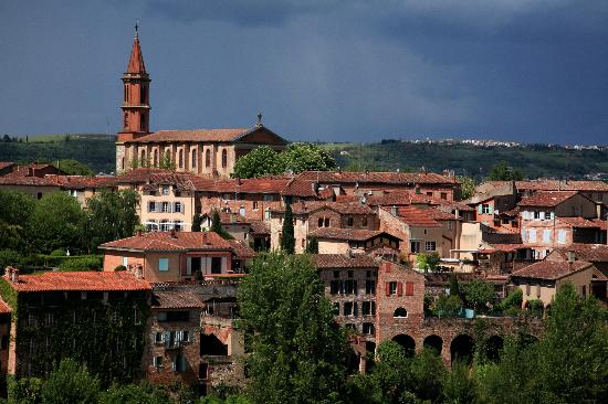 Ophorus Toulouse Sightseeing Day Tours: Albi, the lovely pink city built by red bricks and tiles.