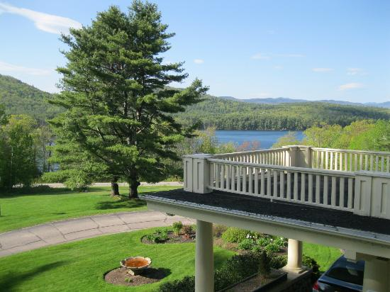 The Manor on Golden Pond: Balcony view