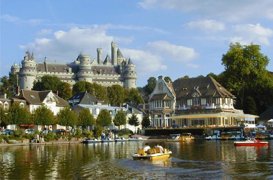 Le Chalet du Lac : le Lac de Pierrefonds