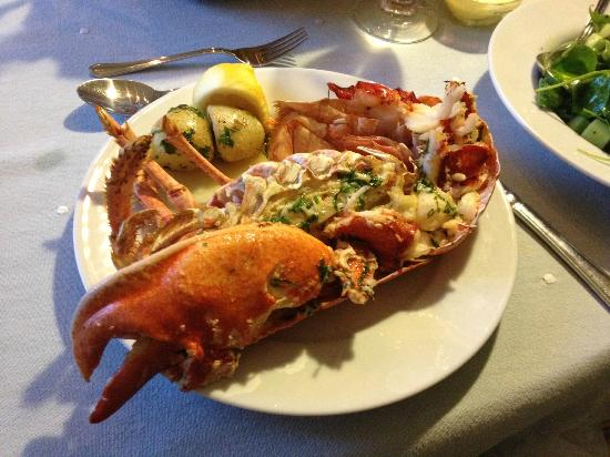 Greenway, UK: The best lobster we've ever had!