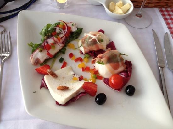 Restaurant Bugenvila: Delicious starter tasting platter