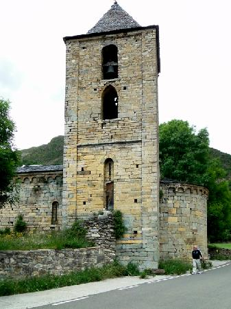 Iglesias románicas catalanas de la Vall de Boí: L'Assumpcio de Cóll