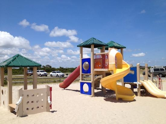 Assateague State Park Camping: playground 