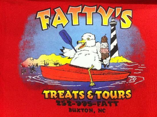 Fatty's Treats & Tours: Fatty logo