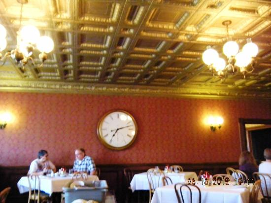 Brookville Hotel: 'Bank' Dining Room