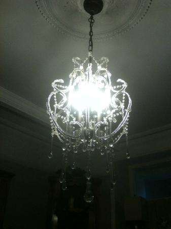 Balcony House: Light in foyer, beautiful.