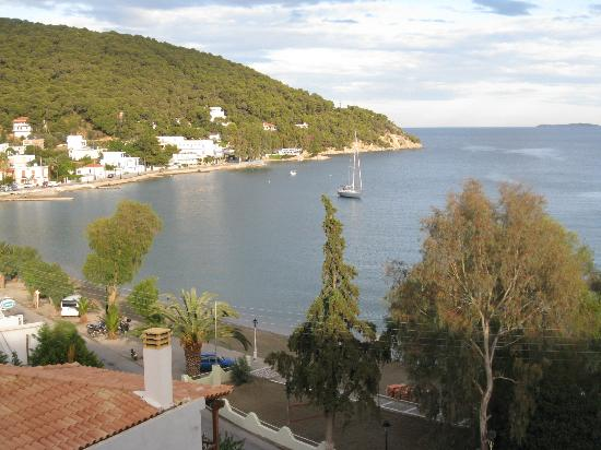 New Aegli Resort Hotel: from the hotel view