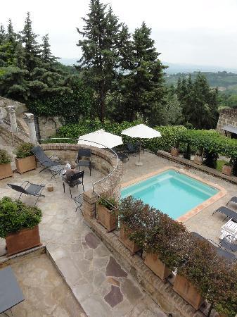 Castello di Monterone: Het zwembad