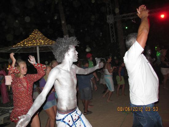 Nubian Village Hotel: Пенная дискотека