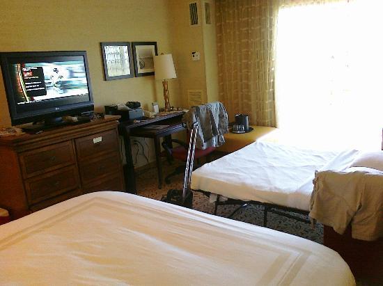 Boca Raton Marriott at Boca Center : Room view