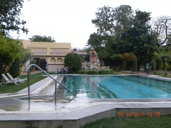 Narain Niwas Palace: pool
