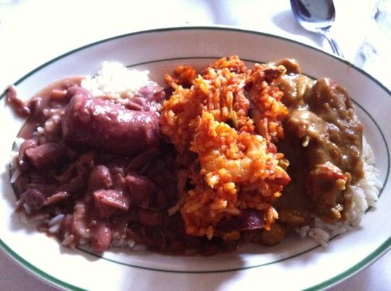 Tujague's Restaurant : red beans, jumbalaya, crawfish